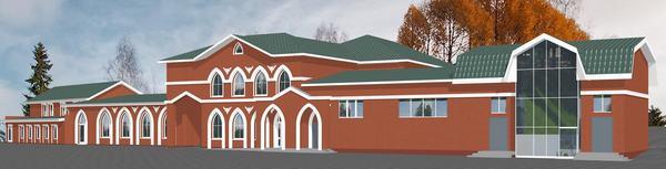 Строительство детского учебного корпуса при Ижевской Соборной мечети